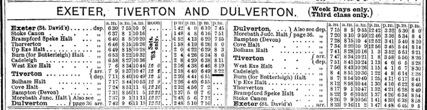 1945timetable